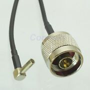 N Male To Ts9 Male 15cm Cable For Data Card Gsm 3g Umts Usb Modem Right Angle