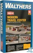 New Walthers 933-3538 Modern Travel Center Kit Ho Scale Train Free Us Ship
