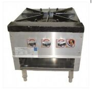 Owst-18 3 Control Gas Candy Stove, Stock Range, Available In Nat Gas