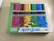 Springbok Puzzle - Pencil Pushers - 500 Piece Jigsaw Puzzle - Large 18 Inch By 2