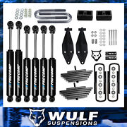 3 Front 2 Rear Lift Kit W/ Pro Comp Shocks Fits 2000-2005 Ford Excursion 4x4