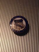 Union Pacific System Overland Railroad Uprr Safety First Enamel Lapel Pin Button