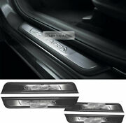 Oem Stainless Steel Side Door Sill Scuff Plate Guard For Hyundai 19 Santa Fe Tm
