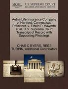 Aetna Life Insurance Company Of Hartford, Conne, Byers, C,,