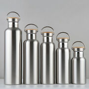 Double Wall Vacuum Bottle Insulated Stainless Steel Water Drink Ware Thermos