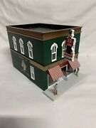 ✅lionel Christmas Toy Store W/ Lighted Sign Building Accessory 6-24226 O Gauge