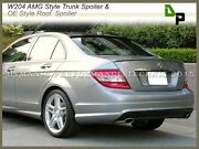 744/775 Amg Trunk Spoiler And 040 Oe Roof Wing For Benz W204 C-class Sedan 08-14