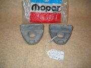 Nos 1948-1971 Dodge And Fargo Large Series Truck Rear Tire Rim Clamps Lot Of 2