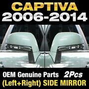 Oem Led Heated Auto Folding Side View Mirror Assy Lh Rh For Chvy 2006-14 Captiva