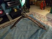 Antique Iron Horse Bits And Bridle Horse Tack Wall Utensil Hanger Collector