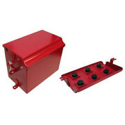 Painted Battery Box Deluxe Fits Farmall Ih International Tractor Super M Md