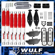 3 Front 2 Rear Lift Kit W Rancho Shocks For 1999-2004 Ford F350 Super Duty 4x4