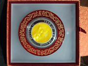 2012 Silver 5 Oz. Mother Of Pearl Dragon Proof. 888 Minted. Ist Ever.