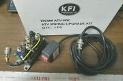 New Kfi Universal 12v Complete Winch Wiring Kit And Switch 30-0051 Atv-wk Ds R