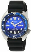 Prospex Save The Ocean Model Mechanical Divers Blue Dial Board Sbdy 021 Men's