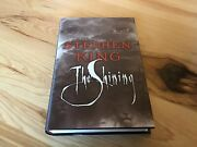 """Stephen King Autographed """"the Shining"""" Hardcover Book Jsa Authenticated"""