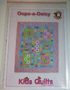 Oops A Daisy Applique And Pieced Quilt Pattern