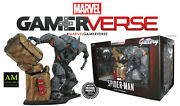 Marvel Gallery Gamerverse - Spider-man Ps4 Rhino Deluxe Pvc Statue - New/boxed