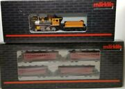 Marklin Z 88035 2-6-0 Drgw Bumble Bee Loco And 87910 Pass Car Set Tested Lnib
