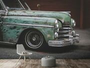 3d Antique Car T035 Transport Wallpaper Mural Self-adhesive Removable Sunday