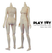 Play Toy 1/6 Scale 12 Female Caucasian Body B Cup Action Figure Doll Pt-s002