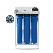Reverse Osmosis Water Filtration System 800 Gpd Dual Booster Pump Auto Flush Ro