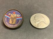 Vintage Ford Punt Pass And Kick Contestant Pin 1960-70and039s Football