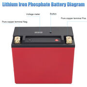 Lfp20l-bs 12 Volt 20ah 650cca Motorcycle Lithium Iron Pack Battery Lifepo4