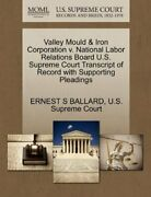 Valley Mould And Iron Corporation V. National Lab, Ballard, S,,