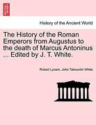 The History Of The Roman Emperors From Augustus, Lynam, Robert,,