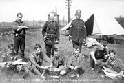Vgy-9 Wwi Leicester Catholic Scouts Guarding Railway Social History. Photo