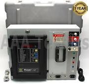 Square D Power Logic Circuit Monitor And Control System Tru Rms Metering Cm-2150