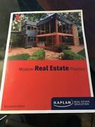 Modern Real Estate Practice 19th Edition Like New