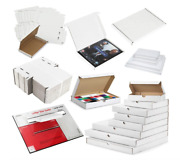 White C5 A5 Box Large Letter Strong Cardboard Shipping Mailing Postal Pip