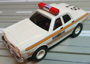 For H0 Slotcar Racing Model Railway - Illinois State Police Boxed