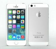 Tracfone / Straight Talk Apple Iphone 5s 16gb 4g Lte Smart Cell Phone Bad Ear