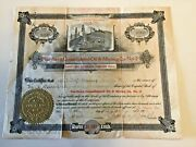1900 Stock Certificate Northern Consolidated Oil And Mining Los Angeles Ca 500sh
