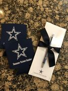 Exclusive Dallas Cowboys Stationary And Koozie Gift Set