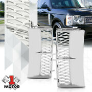 For 2003-2012 Range Rover{autobiography Style}chrome/silver Fender Grille Grill