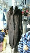 Stunning Superior Quality Ranch Mink Fur Coat Classic Timeless Showroom Sample