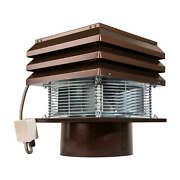 Chimney Fan For Fireplace Barbecue Exhaust Fan Pro Round Flue 30 Cm 12 110 Volt
