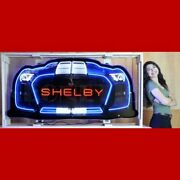 Neonetics Shelby Gt500 Grill Neon Sign Brand New 9grlsh Man Cave Huge 60x28x6
