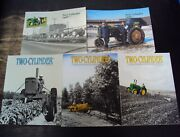 Lot Of 14 Two-cylinder John Deere Tractor 1998-2010 Magazines