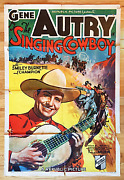 Gene Autry The Singing Cowboy Original Extremely Rare 1936 1-sheet Poster