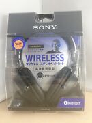 Sony Bluetooth Wireless Stereo Headset With Microphone Dr-bt50