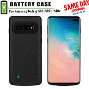Battery Power Bank Charger Cover Case For Samsung Galaxy S10 S10e S10 Plus Phone