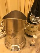 Wine Cooler Champagne Chiller - Pewter Bucket - French Chateau Engraved