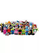 Lego 71012 Disney Minifigures Series 1 Complete Set Of 18 Characters. New