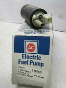 Ac Delco Ep237 Elect Fuel Pump 88-89 Gm Car 4and6 Cyl. Application In Photos