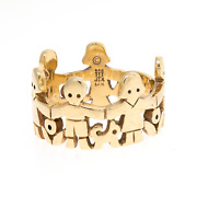 James Avery Paper Doll Ring 14k Yellow Gold Size 5